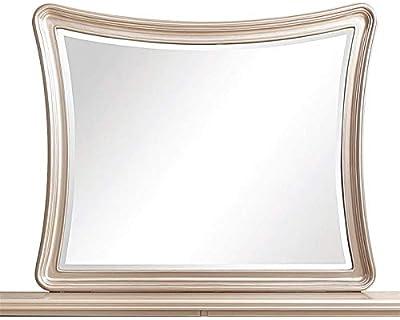 Amazon Com Bassett Mirror Hour Glass Leaner Mirror