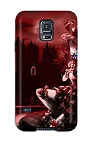 High Quality Shock Absorbing Case For Galaxy S5 Touhou