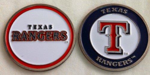 Texas Rangers Double Sided Golf Ball Marker (Texas Rangers Ball)