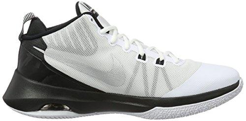 NIKE Herren Air Versitile Nbk Basketball-Schuhe Weiß / Metallic Silber / Schwarz
