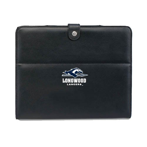 (Longwood Deluxe Black iPad Stand 'Official Logo' )