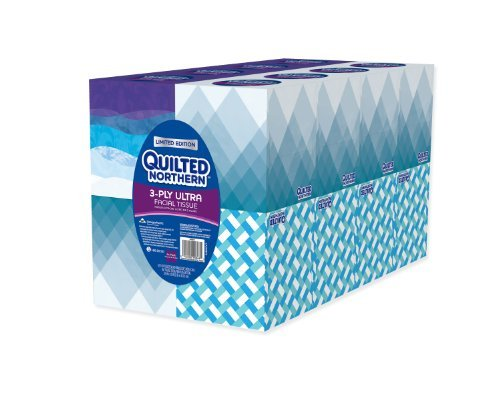 Quilted Northern Ultra Facial Tissue Cube (16 Boxes) by Quilted Northern - Quilted Northern Cube