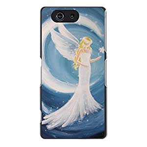 Nice Sony Xperia Z3 Compact,Back Cover Elegant Prevdent Angel Picture Skin Phone Case Snap on Sony Xperia Z3 Compact