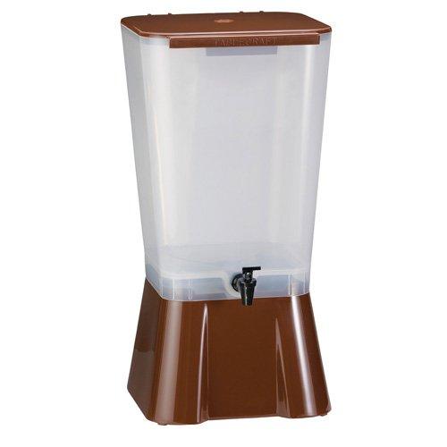 5 Gallon Iced Tea - Tablecraft 1053-5 Gallon Iced Tea/Lemonade Dispenser, Black