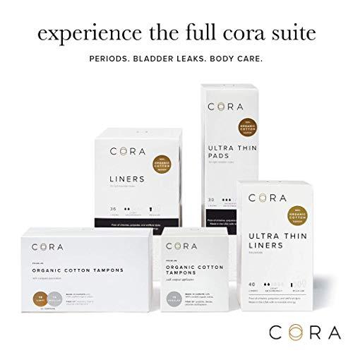Cora Organic Cotton Non-Applicator Tampons Review