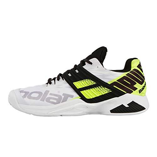 Blanc Clay 46 Chaussure Chaussures Fury Propulse Tennis Noir Battue De Terre Hommes Babolat nwgWqAvZa