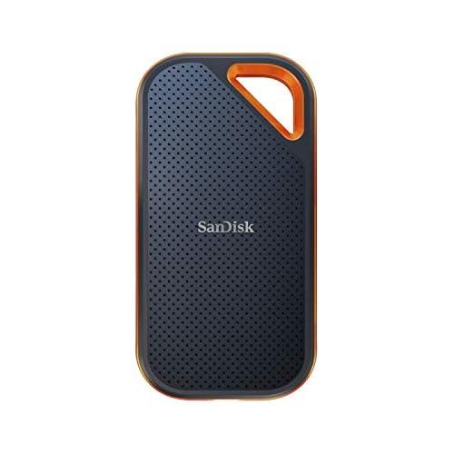 chollos oferta descuentos barato SanDisk Extreme PRO SSD portátil 1 TB hasta 2000 MB s NVMe USB C reforzada y resistente al agua orificio para mosquetón