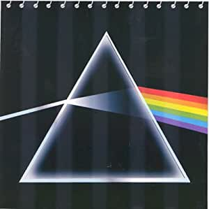 Amazon Com Pink Floyd Dark Side Moon Fabric Bathroom