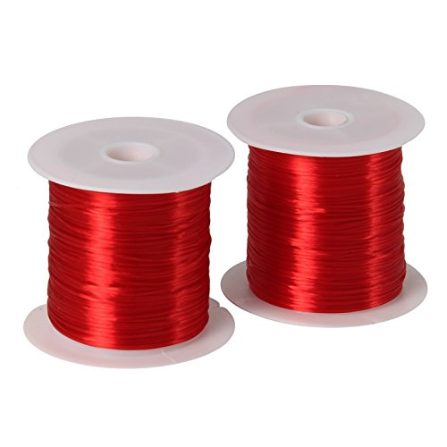 - AnglerDream Bait Elastic Thread Sea Fishing Tying Material 1mm 10M Per Spool Stretchy Invisible Sea Fishing line