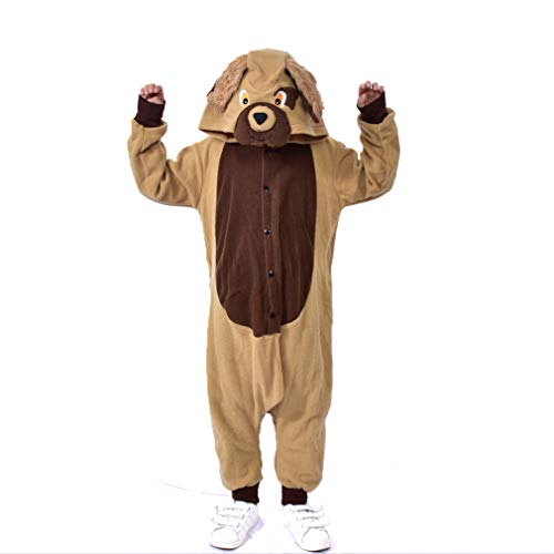 Dog Fancy Dress Costumes For Children - LIGHSALT Dog Costumes Kids Unisex Cosplay