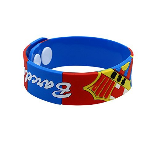 (FC Barcelona Silicone Bracelet (Pwnage) by Ownage Pwnage)