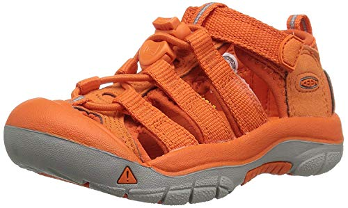 - Keen Unisex Kid Newport H2 Sandal (5 M US Big Kid, Golden Poppy)