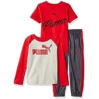 PUMA Toddler Boys' Tricot Pant Set