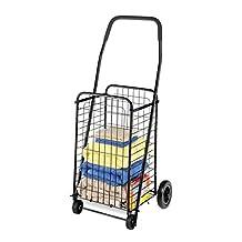 Whitmor Rolling Utility Cart, Black