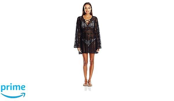 4684626263 PilyQ Women's Midnight Ariana Tunic Cover Up at Amazon Women's Clothing  store: