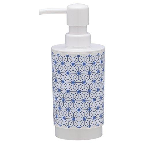 Sealskin 361880221Triangles ABS Blue Bathroom Accessory Soap Dispenser Plastic 7x 8.4x 17.6cm (Soap Lotion Triangle)