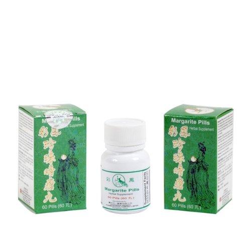 Margarite (poudre de perle pour l'acné et spot), Pills - Herbal Supplement-40Pills x 3 pk