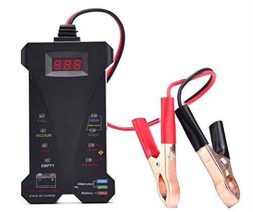 TERMALY Digital Car Battery Tester,Car Battery Tester Analyzer,Car Battery Tester Analyser,Car Battery Testers Battery Checker,Battery Tester, Battery Tester, Digital Battery Tester, 12V LED,A: Amazon.co.uk: Garden & Outdoors