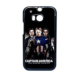 Design With Captain America Hard Phone Case For Kid For Htc One M8 Choose Design 9