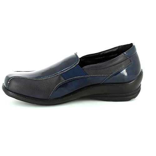 Combi Womens Casual Slip On Padders Shoes Skye Navy Uaxz0