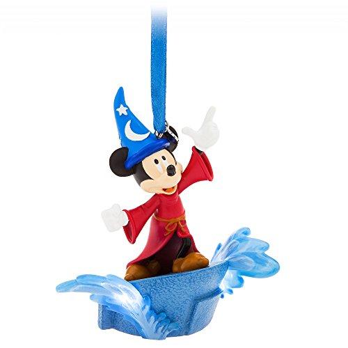 - Disney Sorcerer Mickey Mouse Light Up Sketchbook Ornament - Fantasia