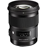 Sigma 50mm f/1.4 DG HSM Lens for Canon EF Cameras (Certified Refurbished)
