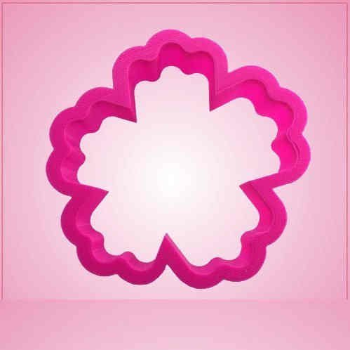 Pink Hibiscus Cookie Cutter
