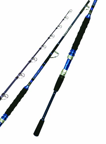 Okuma Cedros Jig Casting Rod (80- 200 Lbs, 5-Feet  6-Inch, XX-Heavy), Outdoor Stuffs