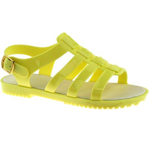 Summer Size Yellow Sandalo Vari Lp3860 3 8 Back Halter Beach Colori Uk Ladies qwBdRR