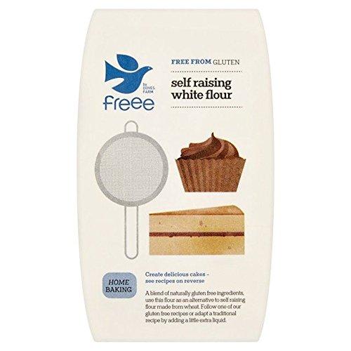 Doves Farm Gluten Free Self-Raising White Flour - 1kg (2.2lbs)