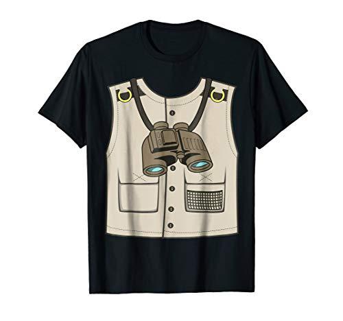 Safari Zookeeper Vest Halloween Costume T-Shirt Gift -