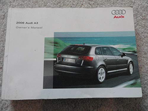2006 audi a3 owners manual - 3