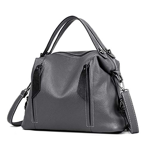 Retro Pu Leather Hand Crossbody Women's Gray Tote t5BqnPTPE