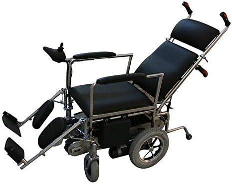 Silla de ruedas eléctrica para discapacitados de edad avanzada - Escalada portátil Silla de ruedas Escalera eléctrica Escaleras Silla de ruedas arriba Fácil de operar Escaleras Escalada estable Carga: Amazon.es: Hogar