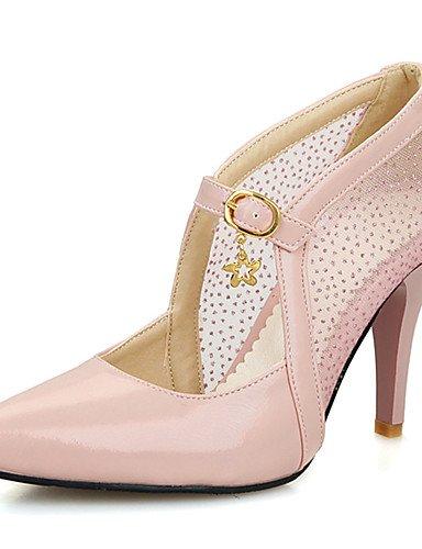 GGX/Damen Schuhe Stiletto Ferse/spitz Heels Party & Abend/Kleid pink/weiß/gold/mandel golden-us7.5 / eu38 / uk5.5 / cn38