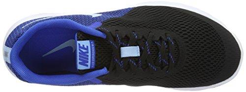 Nike Frauen Flex Experience RN 5 Laufschuh Schwarz / Blaukappe / Hyper Cobalt / Weiß