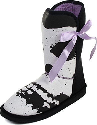 Iron Fist - Womens Misfits Fugly Boots Black v2e3IUfb