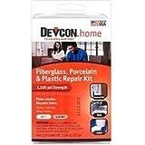 New Devcon 90216 White Almond Bath Tub Shower Fixture Fiberglass Repair Kit Sale by Generic