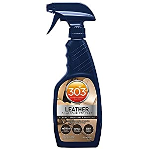 303 Leather Cleaner and Conditioner - UV Protectant- Cleans, Conditions, and Restores Leather and Vinyl Luggage, Handbags, Shoes, Furniture and more, 16 fl. oz.,