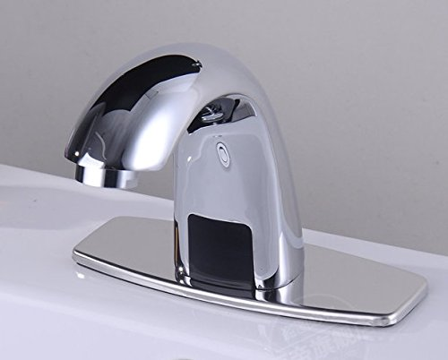 (AWXJX Copper Hot and Cold Wash Automatic Smart Sensor Sink Mixer)