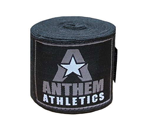 "Anthem Athletics RAPTOR 180"" Cotton Stretch Hand Wraps – Muay Thai, Kickboxing, Boxing, MMA"