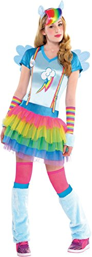 Teen Rainbow Dash My Little Pony MLP Costume (Small)