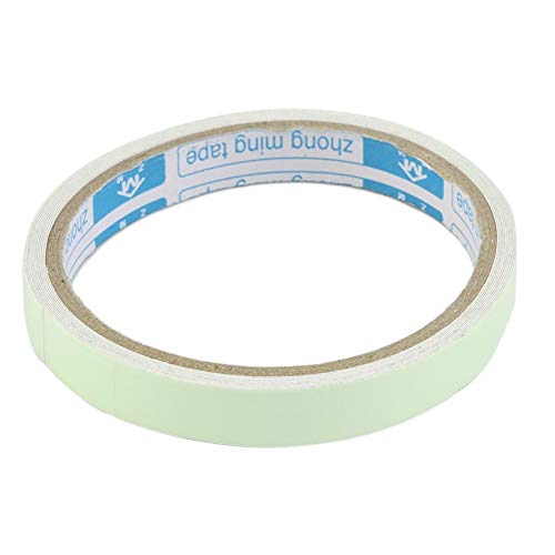 Reflective Tape - Glow In The Dark Tape - 12MM 3M Luminous Tape Self-adhesive Tape Night Vision Glow In Dark Safety Warning Security Stage Home Decoration Tapes - Glow Tape (Best Spray Paint For Blacklight)