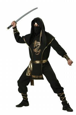 Ninja Warrior Adult Costumes (Ninja Warrior Adult Costume - X-Large)