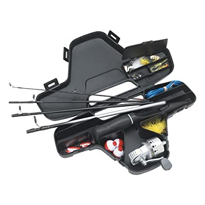 Daiwa Minisystem Minicast Ultra-Compact Spincast Reel and Rod Combo in Hard Carry Case from Daiwa