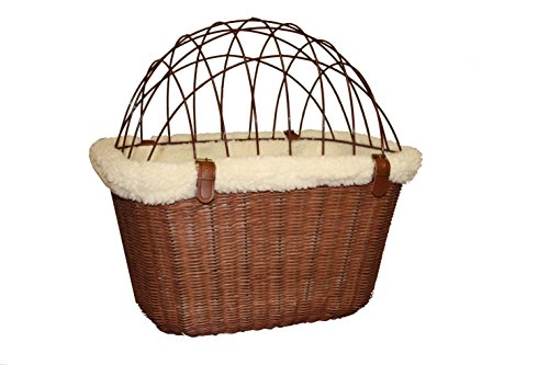 Solvit Wire Safety Cage for Wicker Bicycle Basket