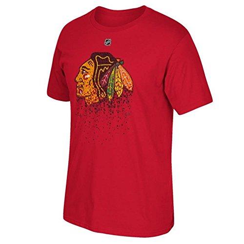 Chicago Blackhawks Jonathan Toews Puck (Jonathan Toews Chicago Blackhawks #19 NHL Youth Breakaway Name & Number T-Shirt (Youth Medium 10/12))
