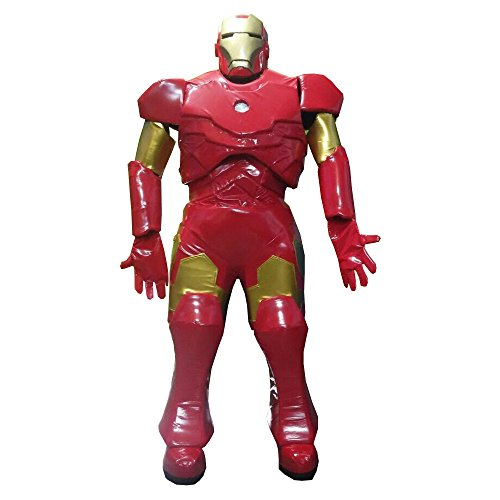 KF Ironman The Avengers Costume Adult Mascot Halloween Cosplay Quality -