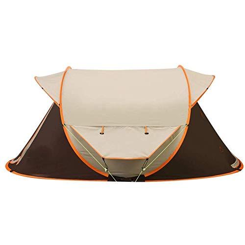 NILINLEI Outdoor Waterproof Tent, 3-4 People Camping Camping Double Rainproof Outdoor Equipment Backpack, 275180110cm