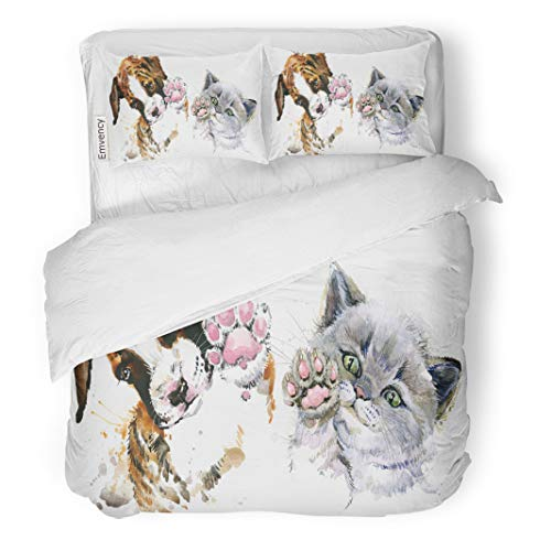 Semtomn Decor Duvet Cover Set King Size Drawing